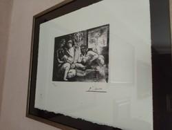 Picasso litográfia