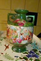 Antik jelenetes váza