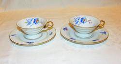 Csodás kávéscsészék  Ullersricht Weiden Bavaria porcelán