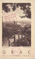 GRÁC idegenforgalmi kiadvány 1930as évek