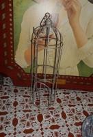 EZÜST csillámos KALITKA, felakasztható, 31 x 10 cm