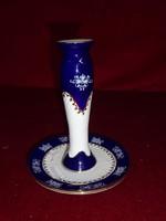 Zsolnay porcelán pompadour 2-es gyertyatartó.