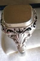 PECSÉTGYŰRŰ-ezüst --fémjelezve