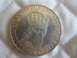 Osztrák Ausztria 50 shilling ezüst érme  20gr - 0.900ag  1965