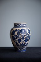 Korondi váza, kézzel festett