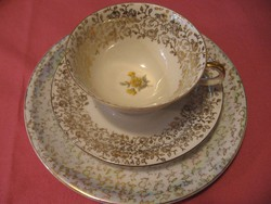 Elfenbein Bavaria vintage kávés, teás csésze
