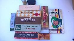 Régi írószeres dobozok