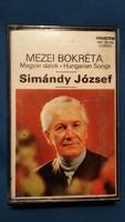 Simándy József: Mezei bokréta - Magyar dalok, kazetta (1977.)