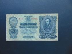 20 pengő 1930 C 158 Nagyon szép bankjegy !!!
