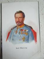 Habsburg – Tescheni JENŐ FŐHERCEG császár és király KUK tábornagy SZÍNES KÉPESLAP 1903