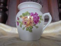 Hollóházi rózsás csésze