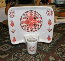 Drasche porcelán fali lámpa