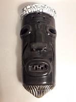 Retro kerámia fali dísz fali maszk jelzett lámpa lehet belőle könnyedén