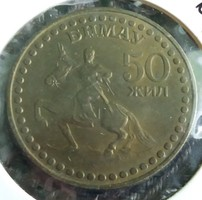Mongólia 50 Zsil.
