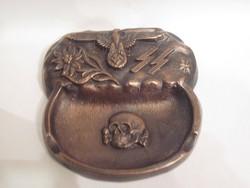 Tiszta bronz SS hamutál-RITKA
