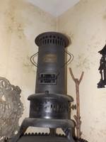 Ritka Antik Petróleum olaj melegítő tűzhely kályha Üzemképes ! kb 70cm