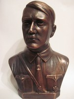 Tiszta bronz Hitler szobor-RITKA