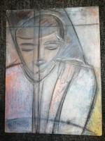 Különleges festmény gyűjteményes hagyatékból