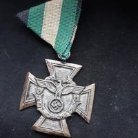 Német,náci,barna sasos kitüntetés
