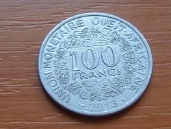 NYUGAT AFRIKAI ÁLLAMOK 100 FRANK FRANCS 2013 #