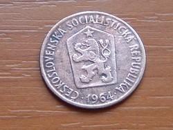 CSEHSZLOVÁKIA 50 HALERU 1964 #
