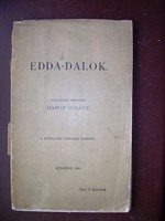 Gábor Ignácz Edda-dalok 1903.