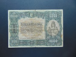 10000 korona 1920 C 32 Nagy méretű bankjegy