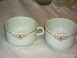 Alföldi ritka teás csésze párban