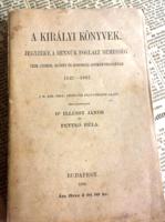A Királyi könyvek jegyzéke.../Dr .Ilésy János és Pettkó Béla 1895.