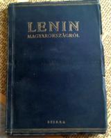 Lenin Magyarországról írt tanulmánya,fotókkal