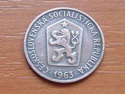 CSEHSZLOVÁKIA 50 HALERU 1963 #