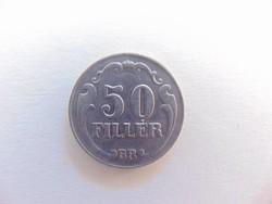 50 fillér 1938 Nagyon szép érme !