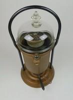 Antik spirituszos réz kávéfőző - 40 centi magas