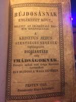 Árva Bethlen Kata misekönyve! 1848-as kiadás!!!