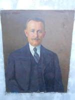 Kunffy Lajos (1869-1962) muzeális, eredeti festménye. Certifikáció, szakvélemény van róla.