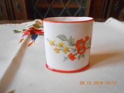 Antik Zsolnay porcelán cigaretta tartó