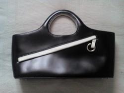 Újszerű kisméretű Jane Shilton bőr táska