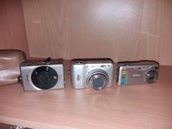 3db Régebbi Fényképezőgép
