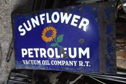 Ritka veterán benzinkút autó motor olaj reklám cég tábla Loft industrial gépipari Antik db