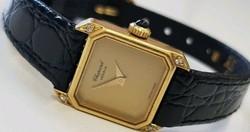 Chopard Geneve 18karatos arany karóra gyémántokkal