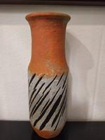 Gorka Lívia zebra mintás váza