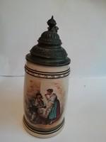 Ónfedeles festett sörőskupa 1860 körüli
