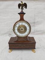 Döller in Wien 1825 as Empire kandalló óra. Dátum tárcsás.