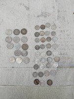 Antik ezüst pénzek. 1859-1916.