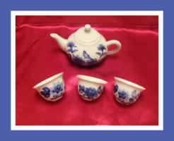 Porcelán kínai teáskészlet