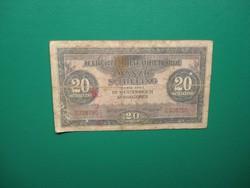20 schilling 1944 Katonai kiadás!