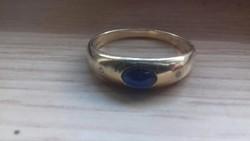 Arany karkötő+gyűrű szett