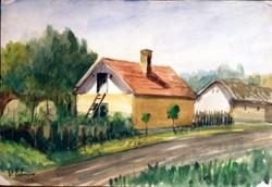 Deák Ébner Lajos: Napsütötte ház