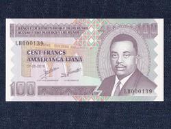 Burundi 100 frank bankjegy alacsony sorszám! 2010 / id 12305/