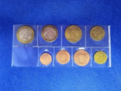 Ritka Magyar EURO próbaveret sor 2004 ( euró próba )